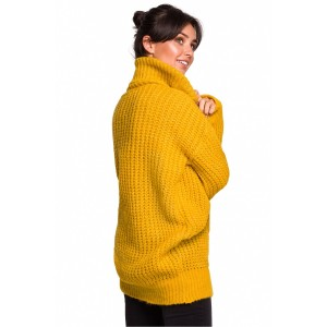 Pulover BE Knit 134749, rumena