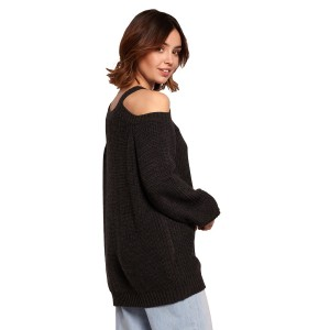 Pulover BE Knit 154025, siva