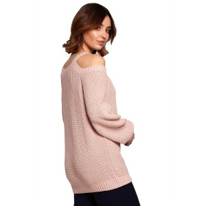 Pulover BE Knit 154023, roza