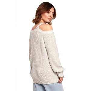 Pulover BE Knit 154024, siva